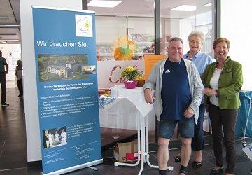 Präsentation des Vereins der Freunde der Kreisklinik Berchtesgaden e.V. am Tag der offenen Tür am 21.09.2019