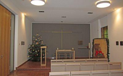 Juni 2014 – Zuschuss für eine stimmungsvolle Beleuchtung in der neu gestalteten Kapelle